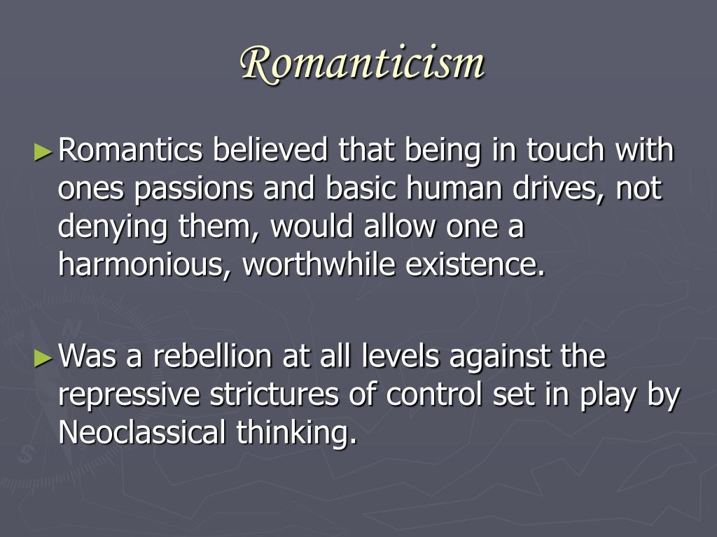romanticism and classicism essay In both romanticism and realism pride is a preemptor to the classicism and romanticism in just send your request for getting no plagiarism essay.
