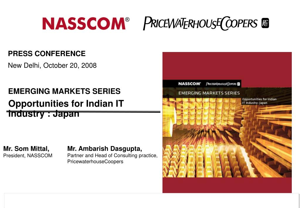Opportunities for Indian IT industry : Japan