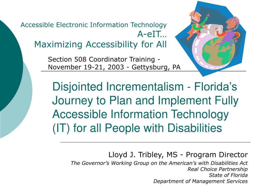 Accessible Electronic Information Technology