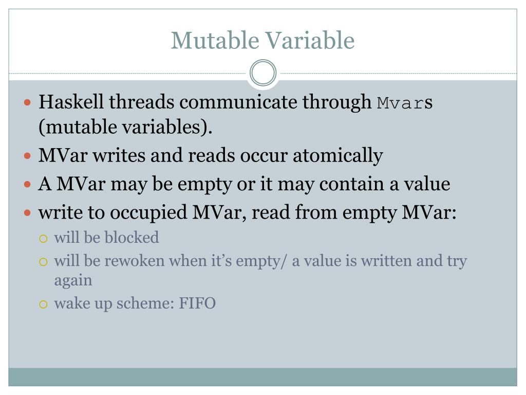 Mutable Variable