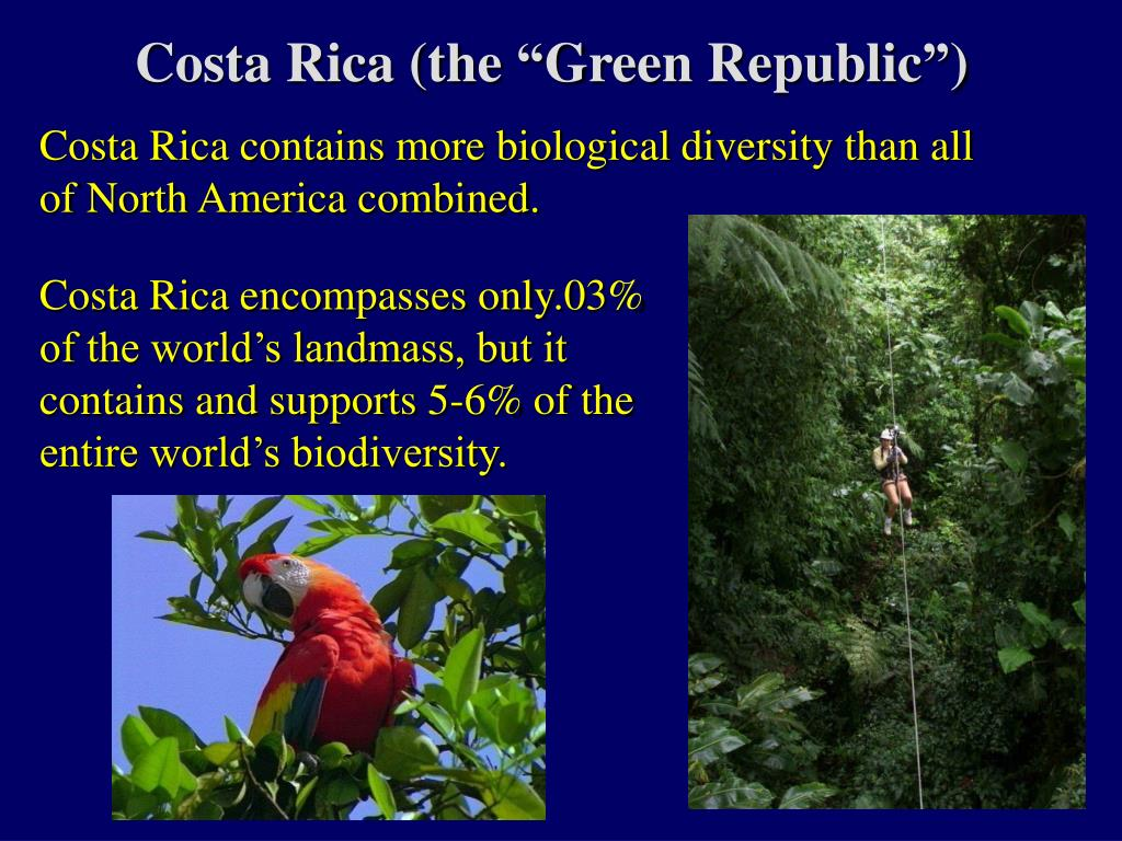 "Costa Rica (the ""Green Republic"")"