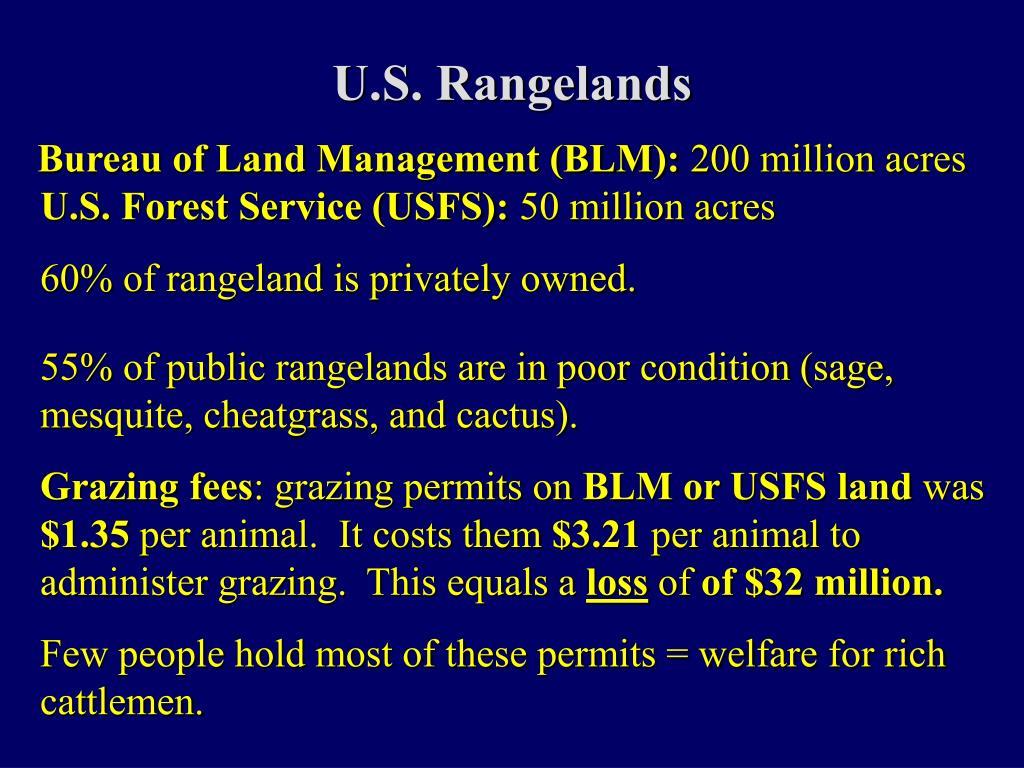 U.S. Rangelands
