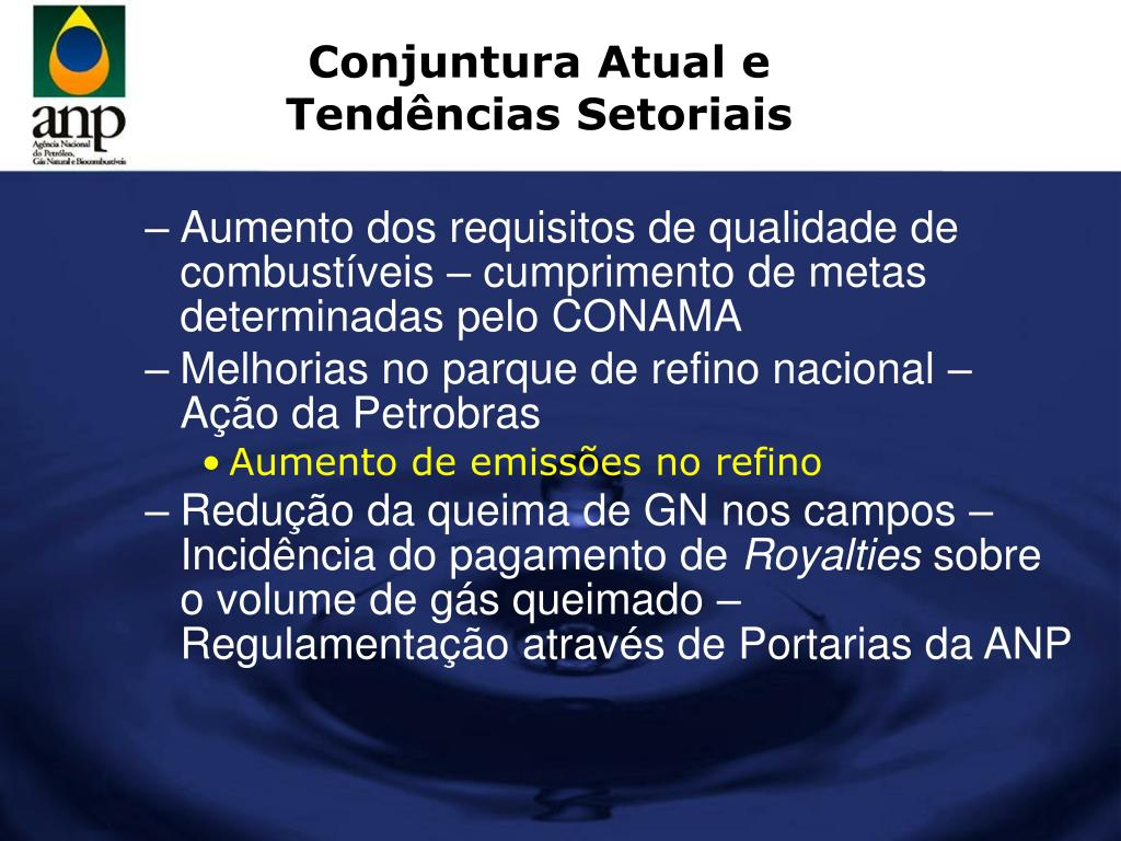 Conjuntura Atual e Tendências Setoriais