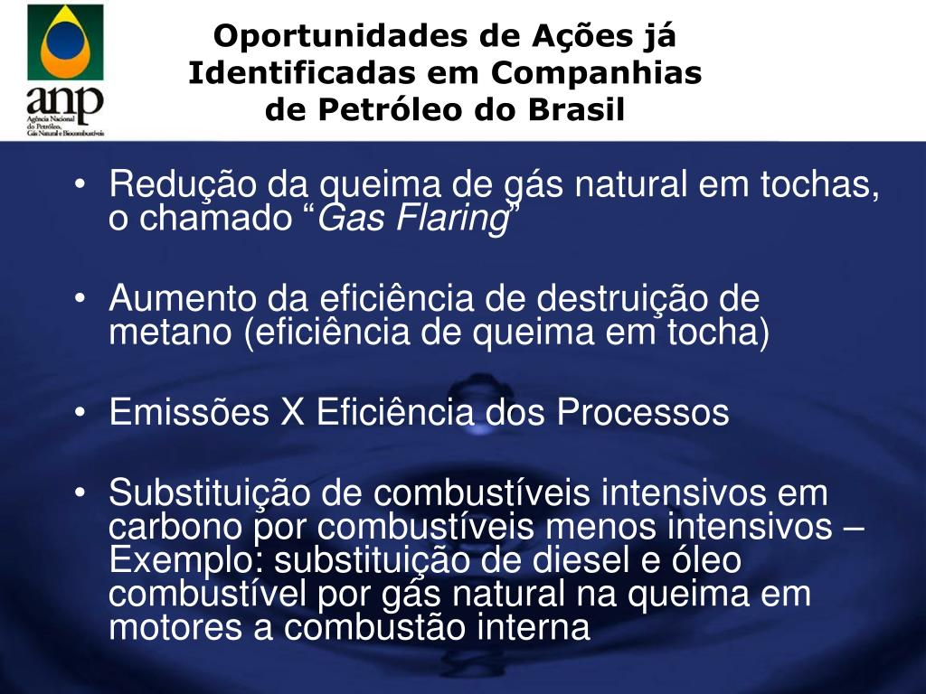 Oportunidades de Ações já Identificadas em Companhias de Petróleo do Brasil