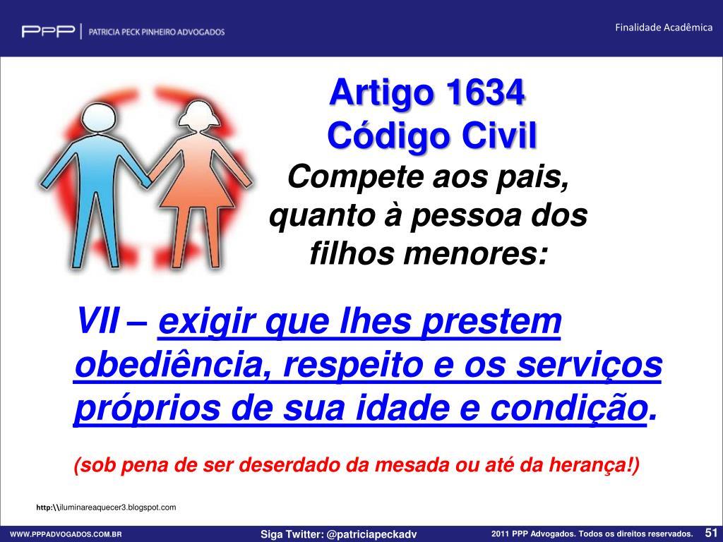 Artigo 1634