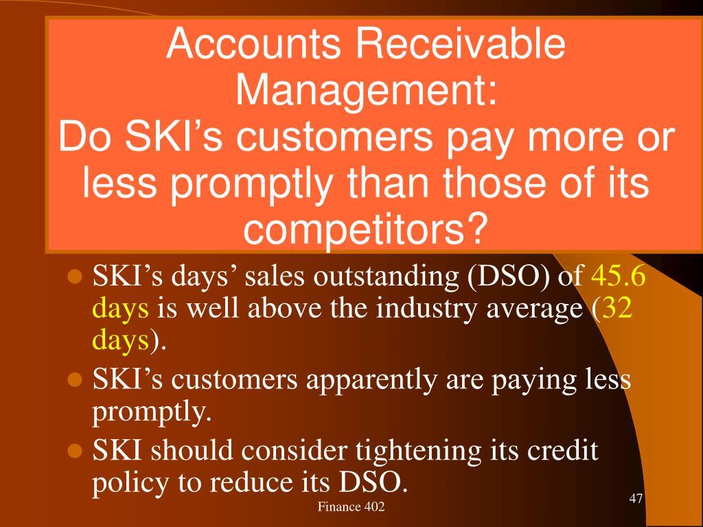 Accounts Receivable Management:
