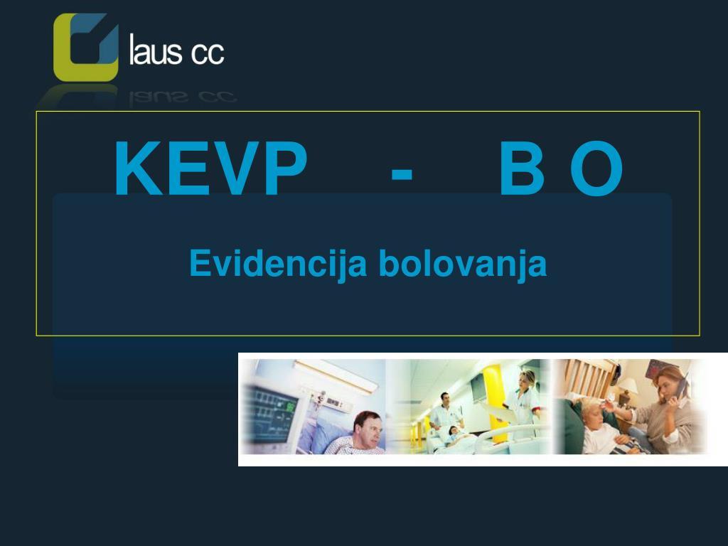 KEVP    -    B O