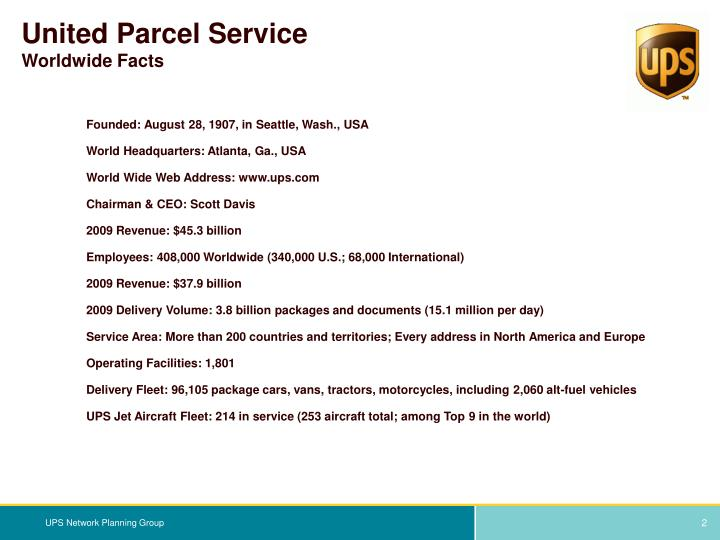 value and united parcel service United parcel service inc (nyse:ups) add to watch list set alert 12434 delayed data as of sep 10 +135 / +110% today's change  terms under which this service is provided to you.
