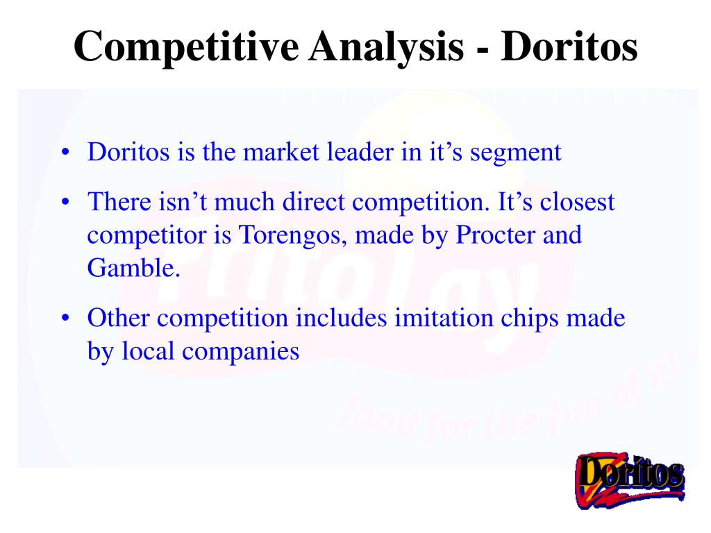 Competitive Analysis - Doritos