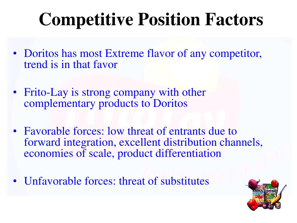 Competitive Position Factors