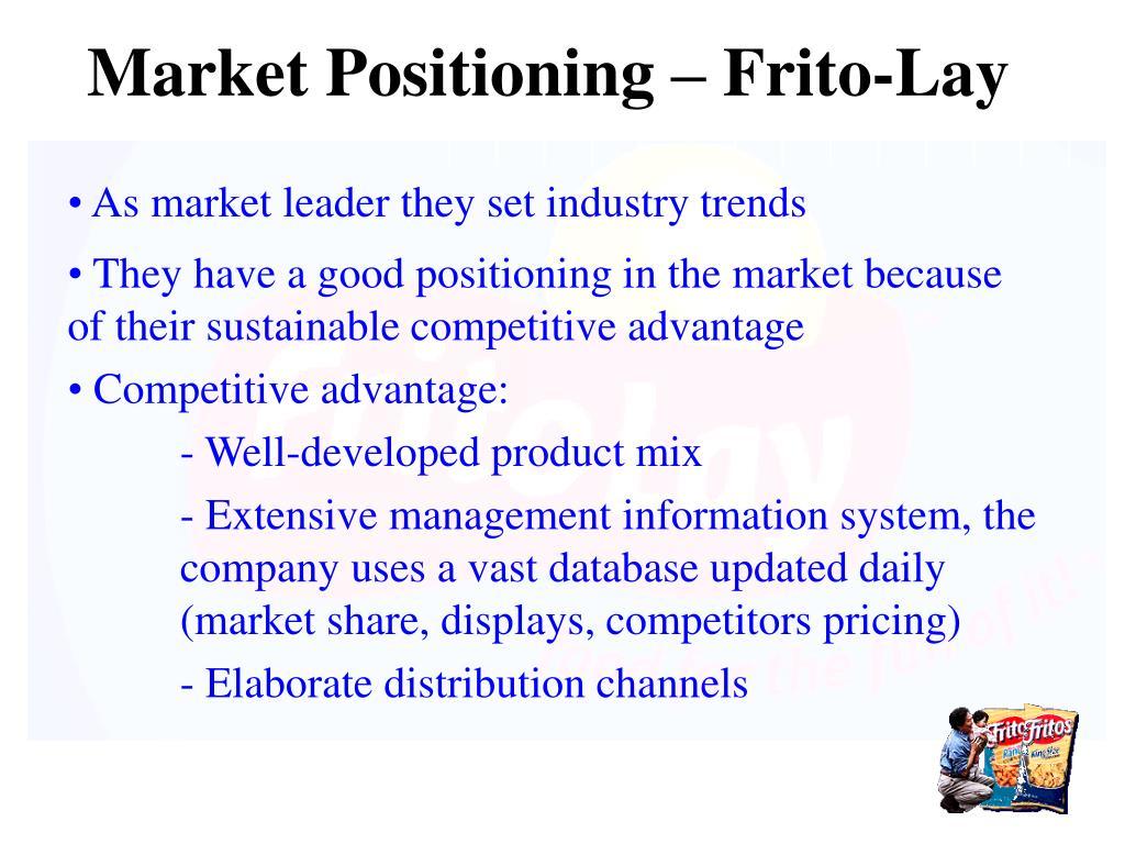 Market Positioning – Frito-Lay