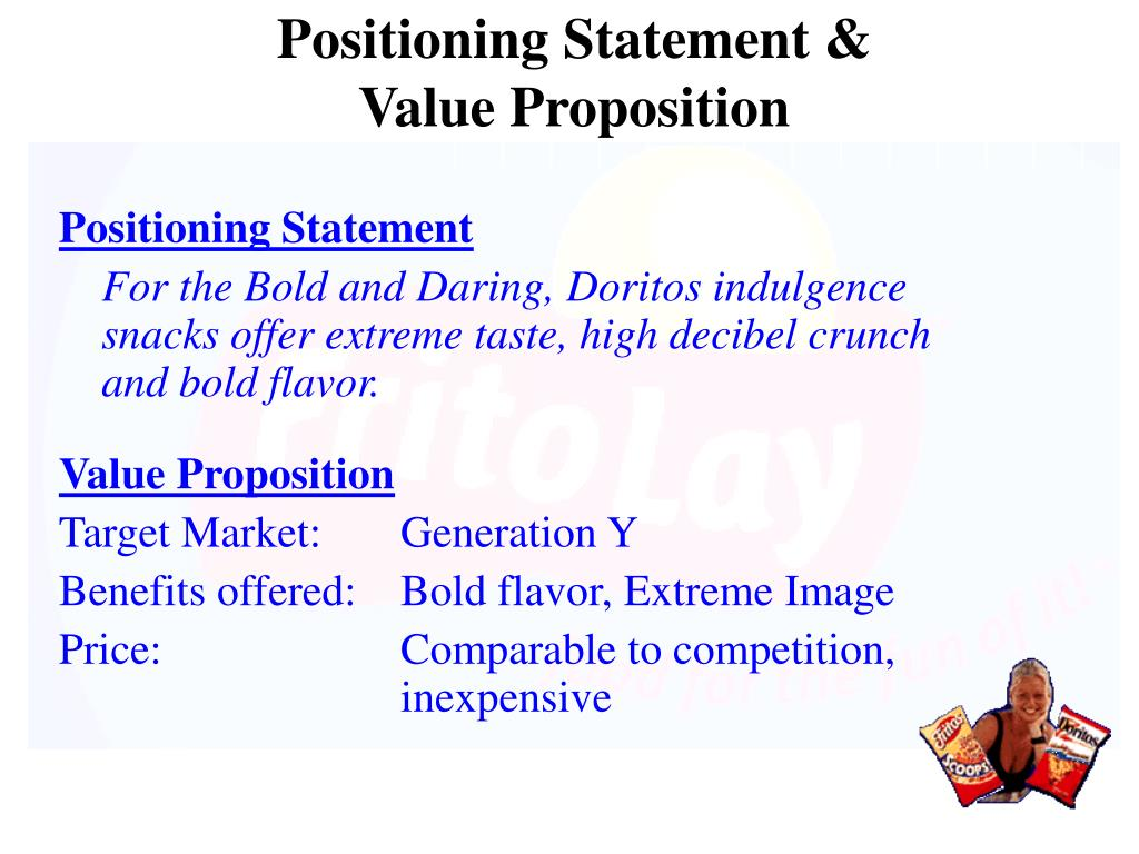 Positioning Statement &