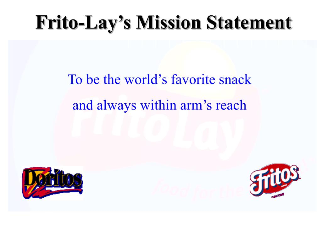 Frito-Lay's Mission Statement