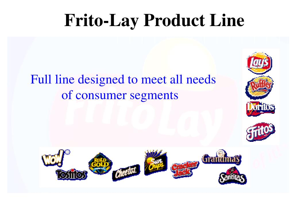 Frito-Lay Product Line