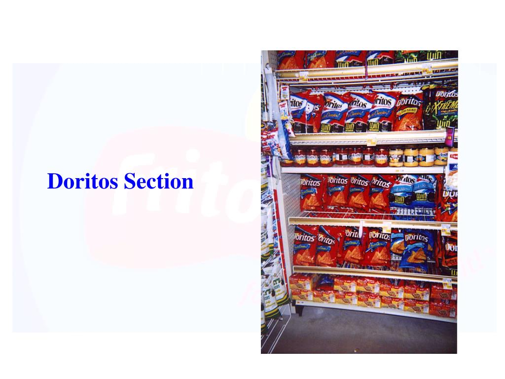 Doritos Section