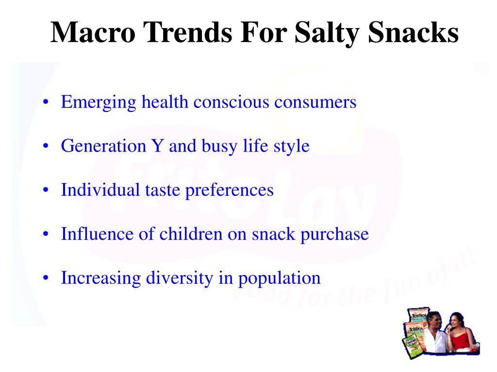 Macro Trends For Salty Snacks