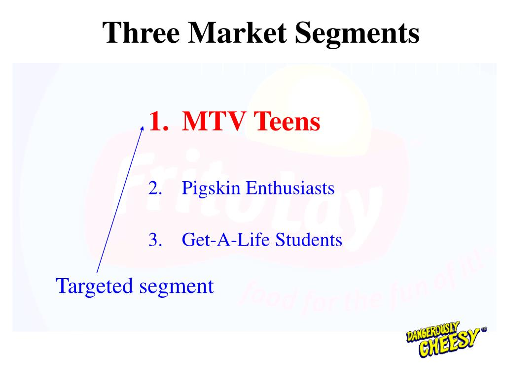 Three Market Segments