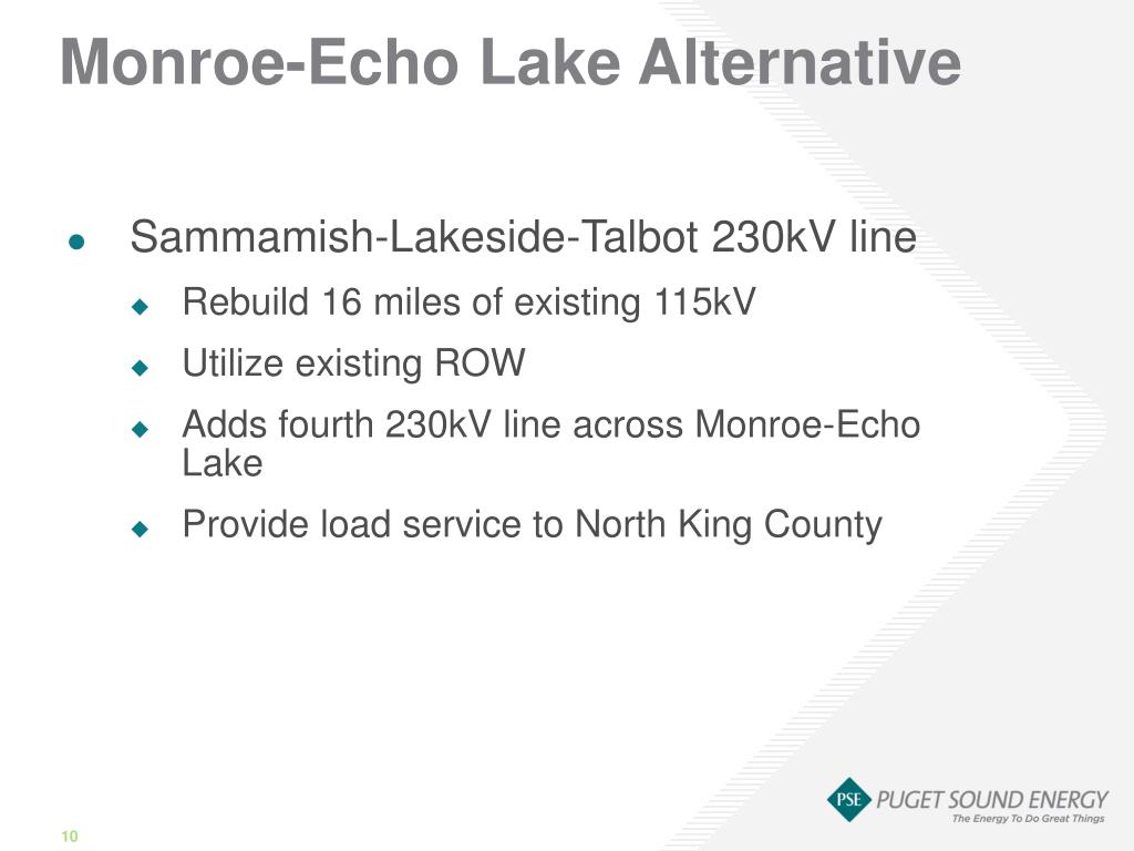 Monroe-Echo Lake Alternative