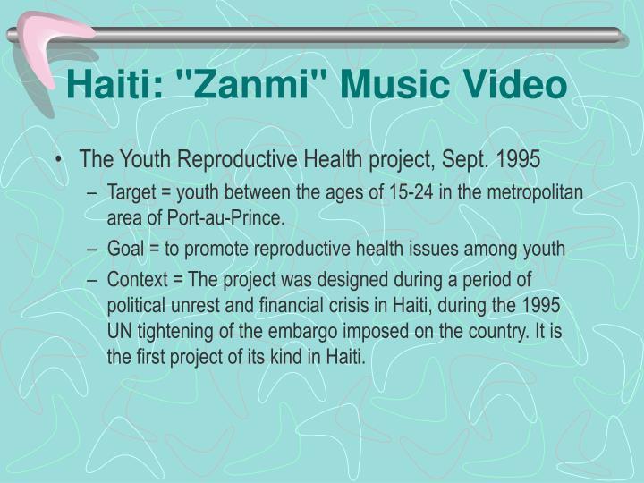 """Haiti: """"Zanmi"""" Music Video"""