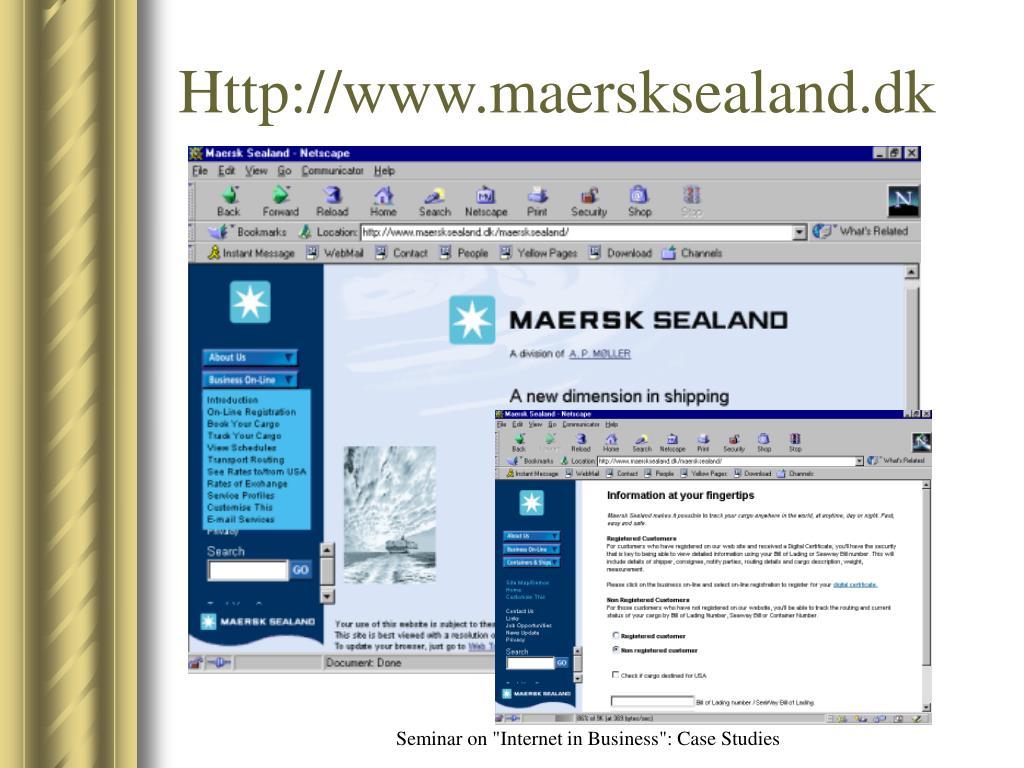 Http://www.maersksealand.dk