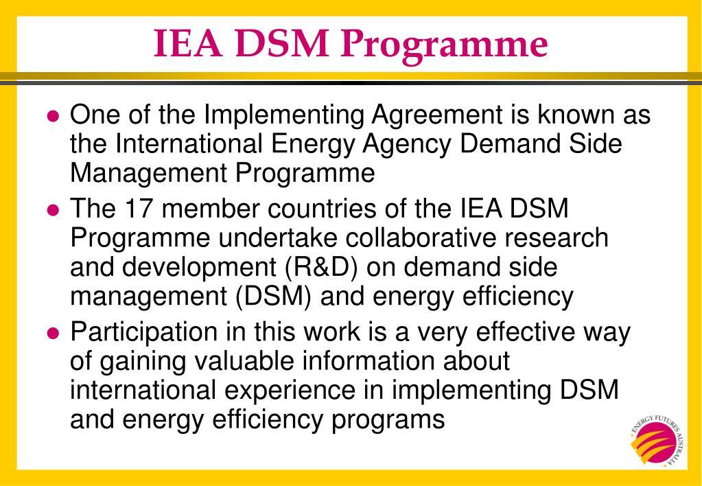 IEA DSM Programme
