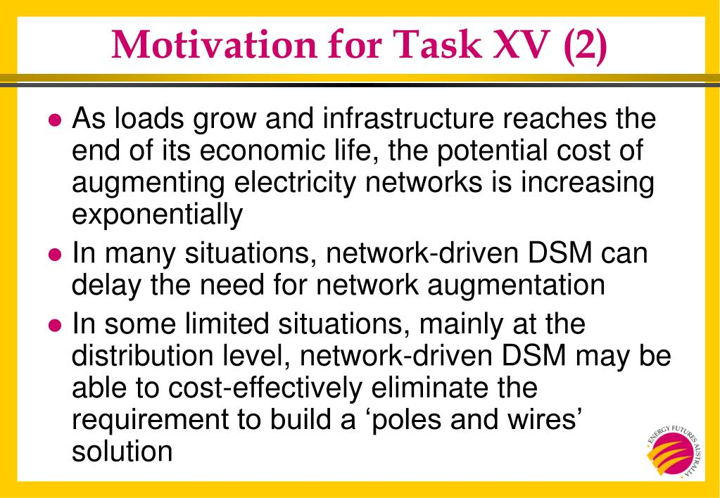 Motivation for Task XV (2)