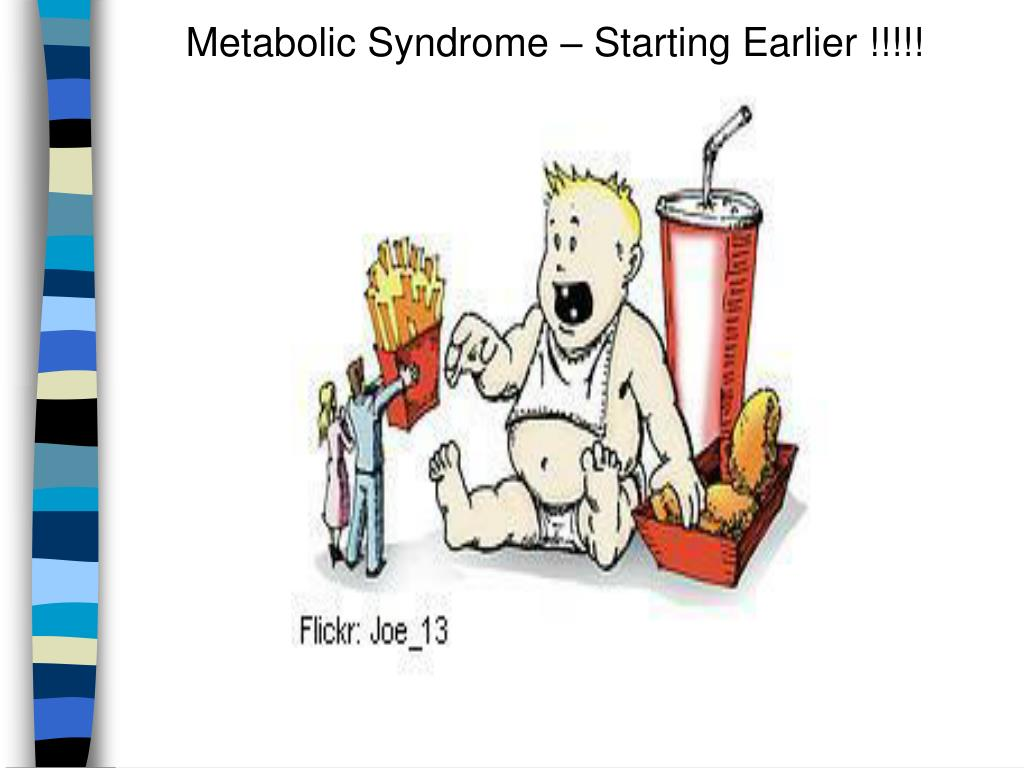 Metabolic Syndrome – Starting Earlier !!!!!