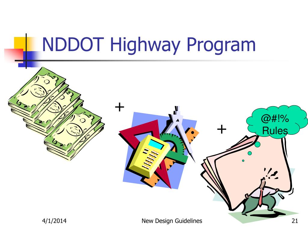 NDDOT Highway Program