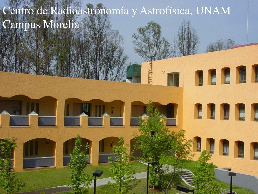 Centro de Radioastronomía y Astrofísica, UNAM