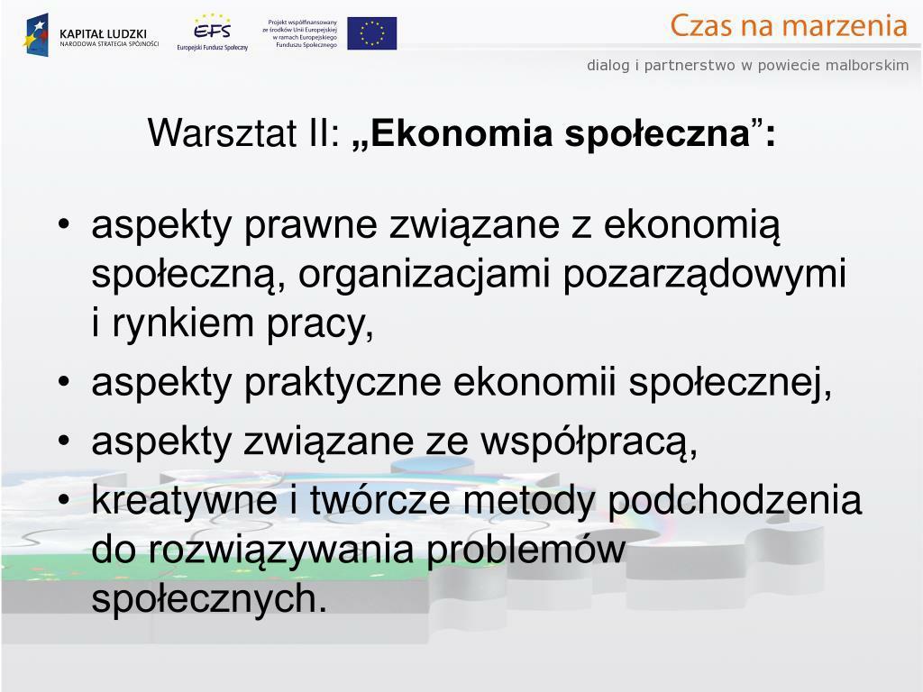 Warsztat II: