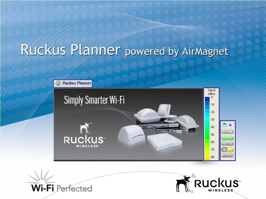 Ruckus Planner