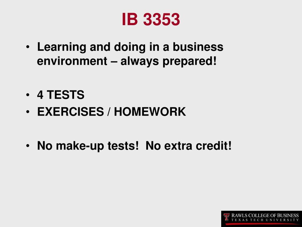 IB 3353