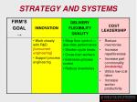 strategy and systems133