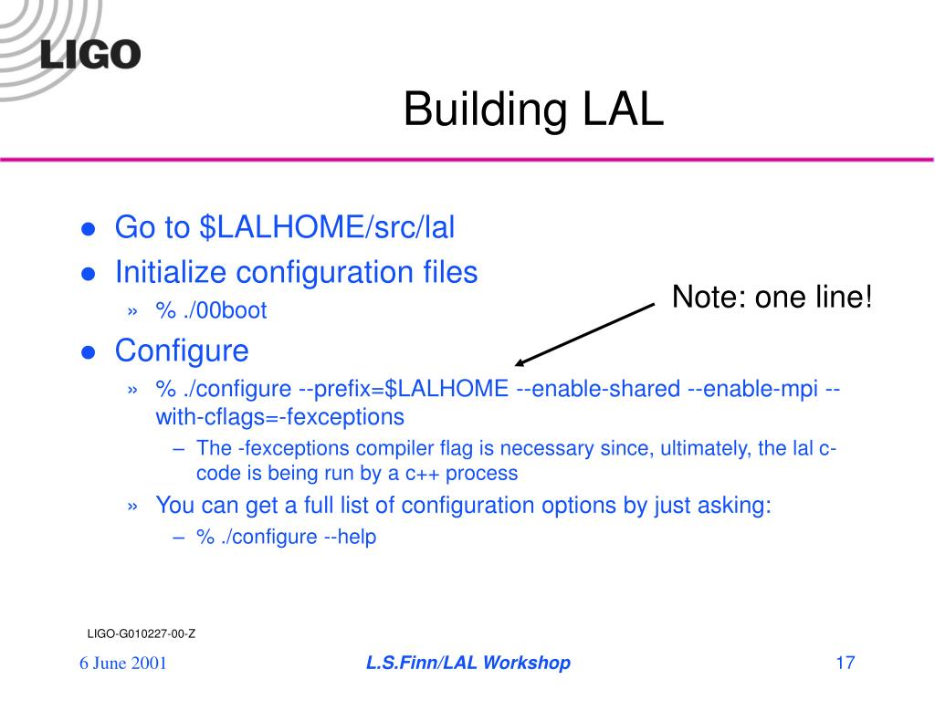 Building LAL