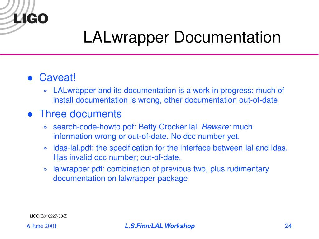 LALwrapper Documentation