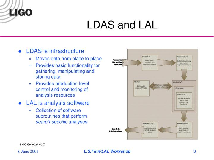 Ldas and lal