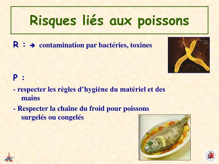 Risques liés aux poissons