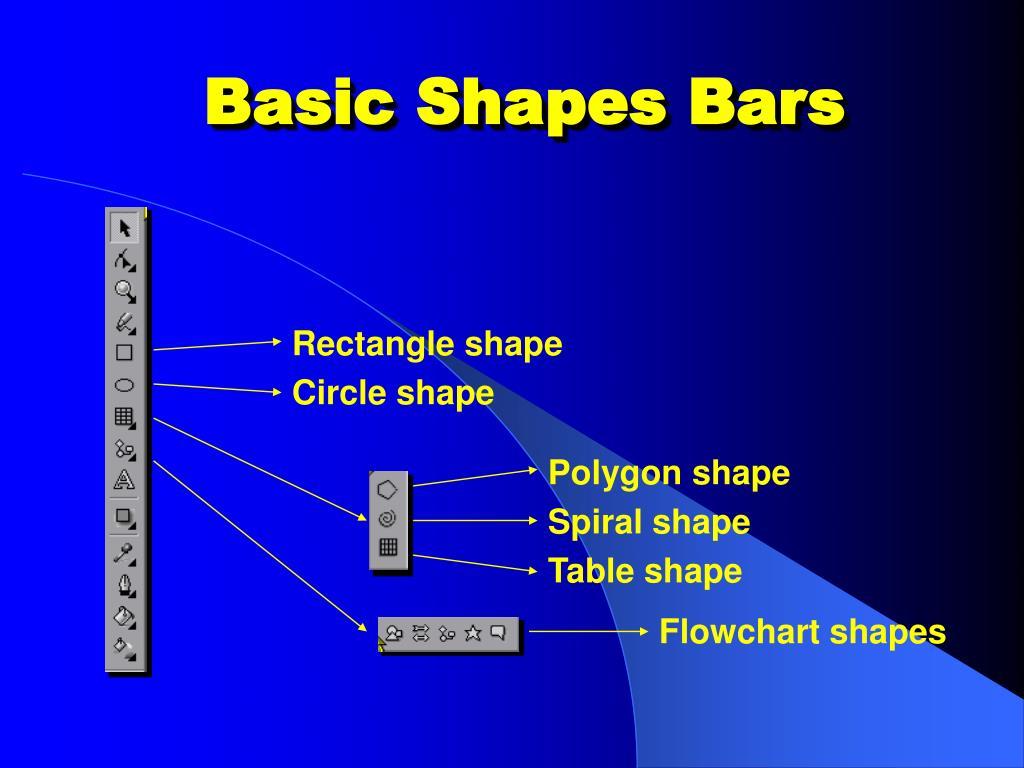 Basic Shapes Bars