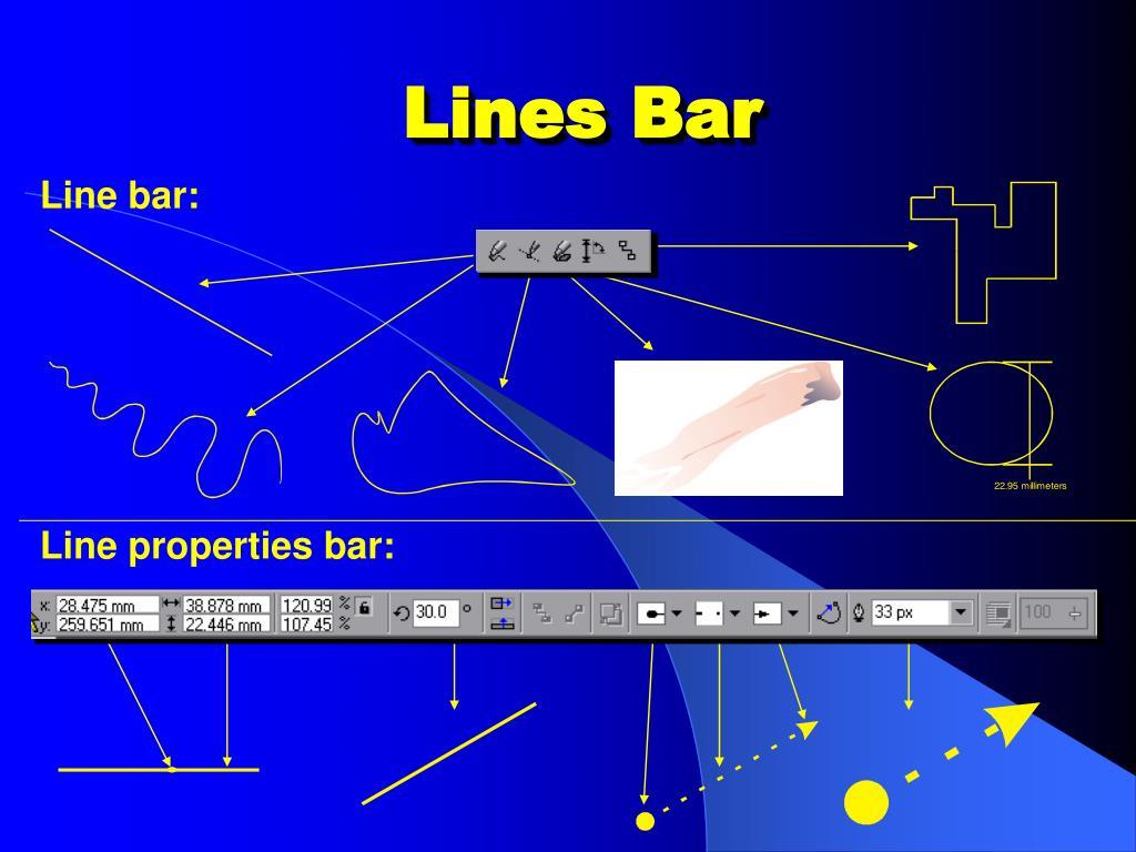 Lines Bar