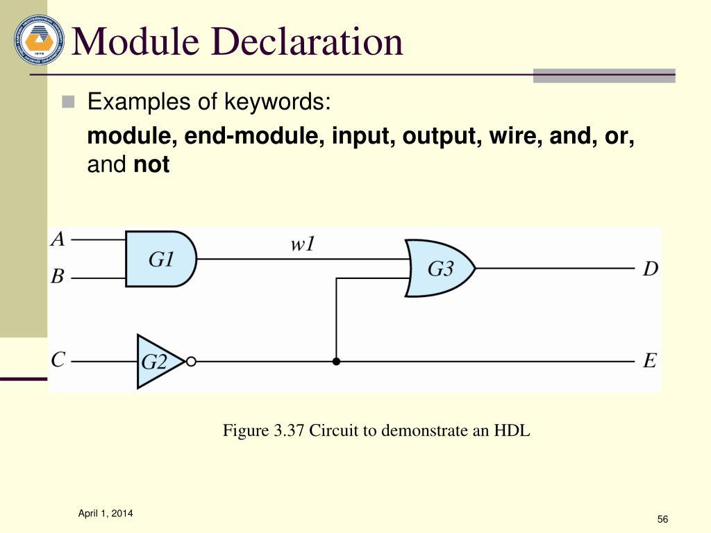Module Declaration