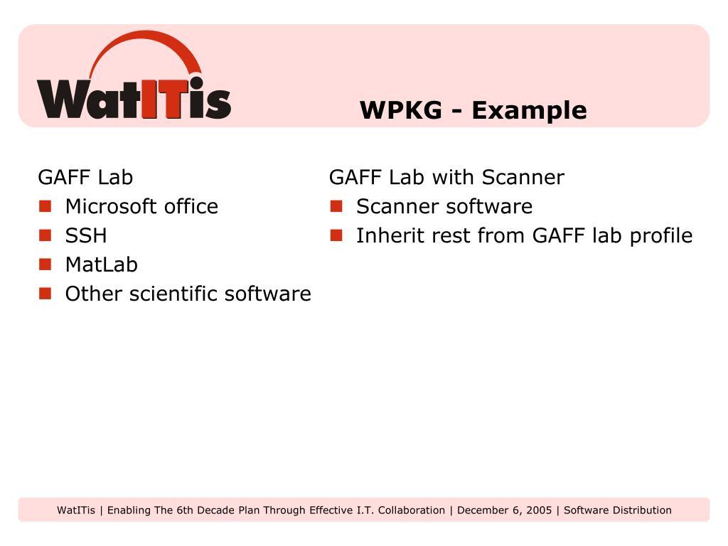 GAFF Lab