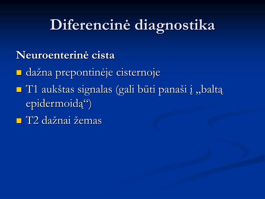 Diferencinė diagnostika