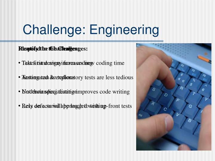 Challenge: Engineering