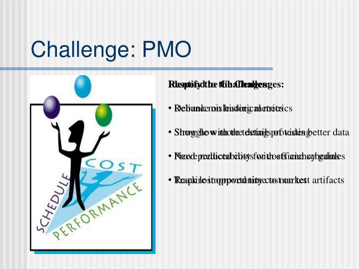 Challenge: PMO