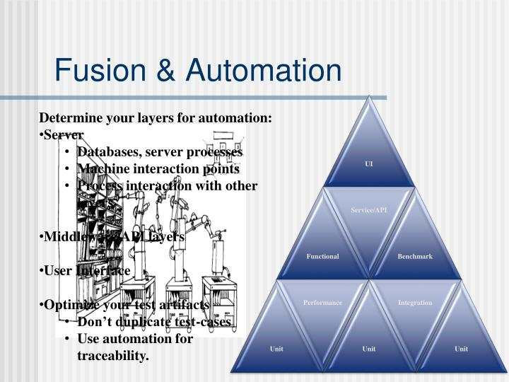 Fusion & Automation