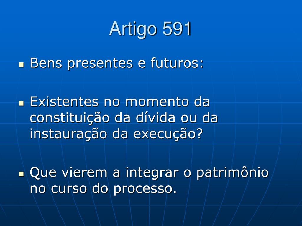 Artigo 591