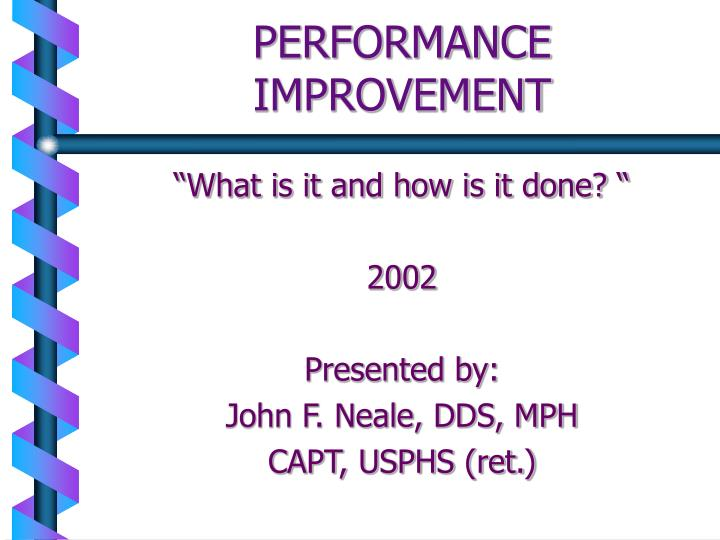 Performance improvement l.jpg