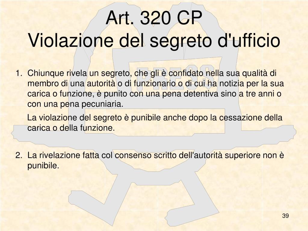 Art. 320 CP