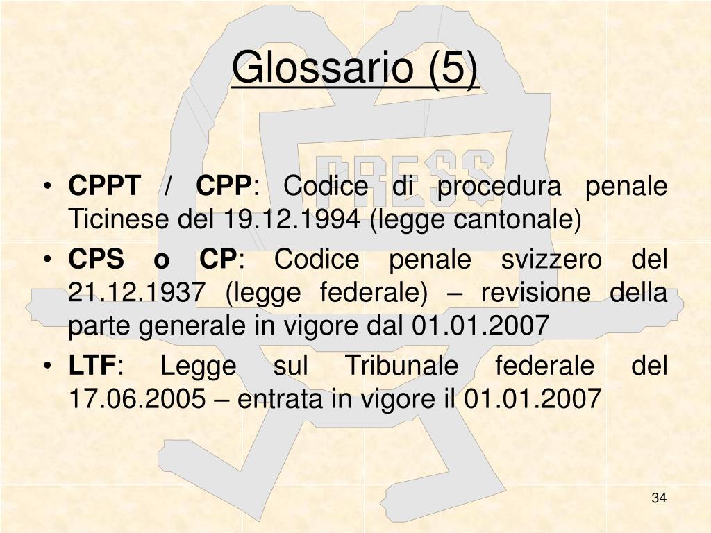 Glossario (5)