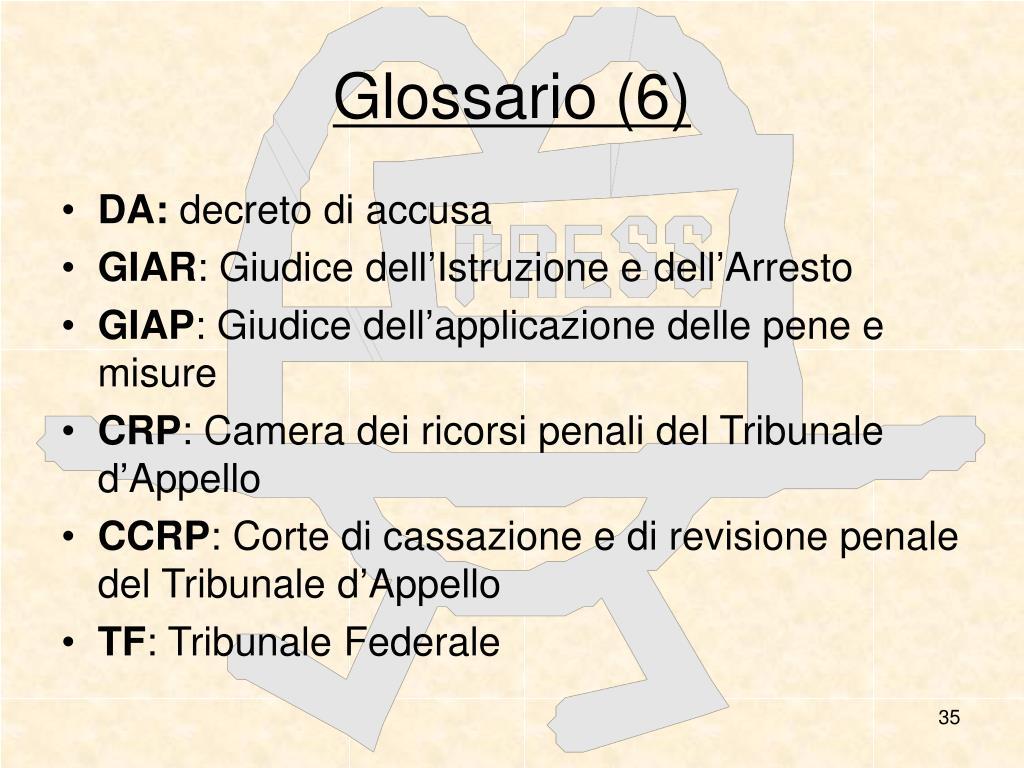 Glossario (6)